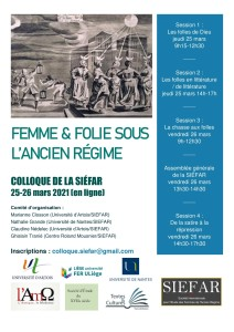 Affiche colloque siéfar