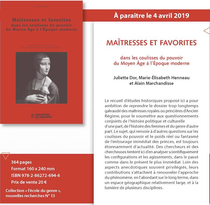 Maitresses-Favorites