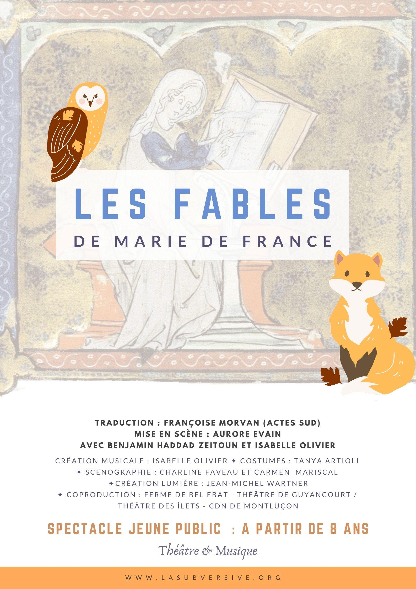 Marie de France - Affiche dossier
