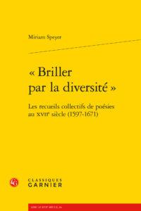 Page Couverture Briller par la diversité (Garnier, 2021)